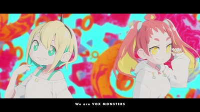 We are VOX MONSTERSのジャケット写真